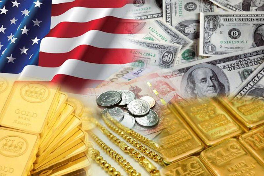 ดอลลาร์หนุนทองคำ