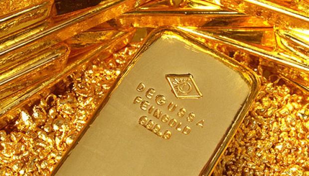 ภาวะตลาดทองคำนิวยอร์ก: ทองปิดบวก 12.2 ดอลล์ กังวลเศรษฐกิจหนุนแรงซื้อสินทรัพย์ปลอดภัย