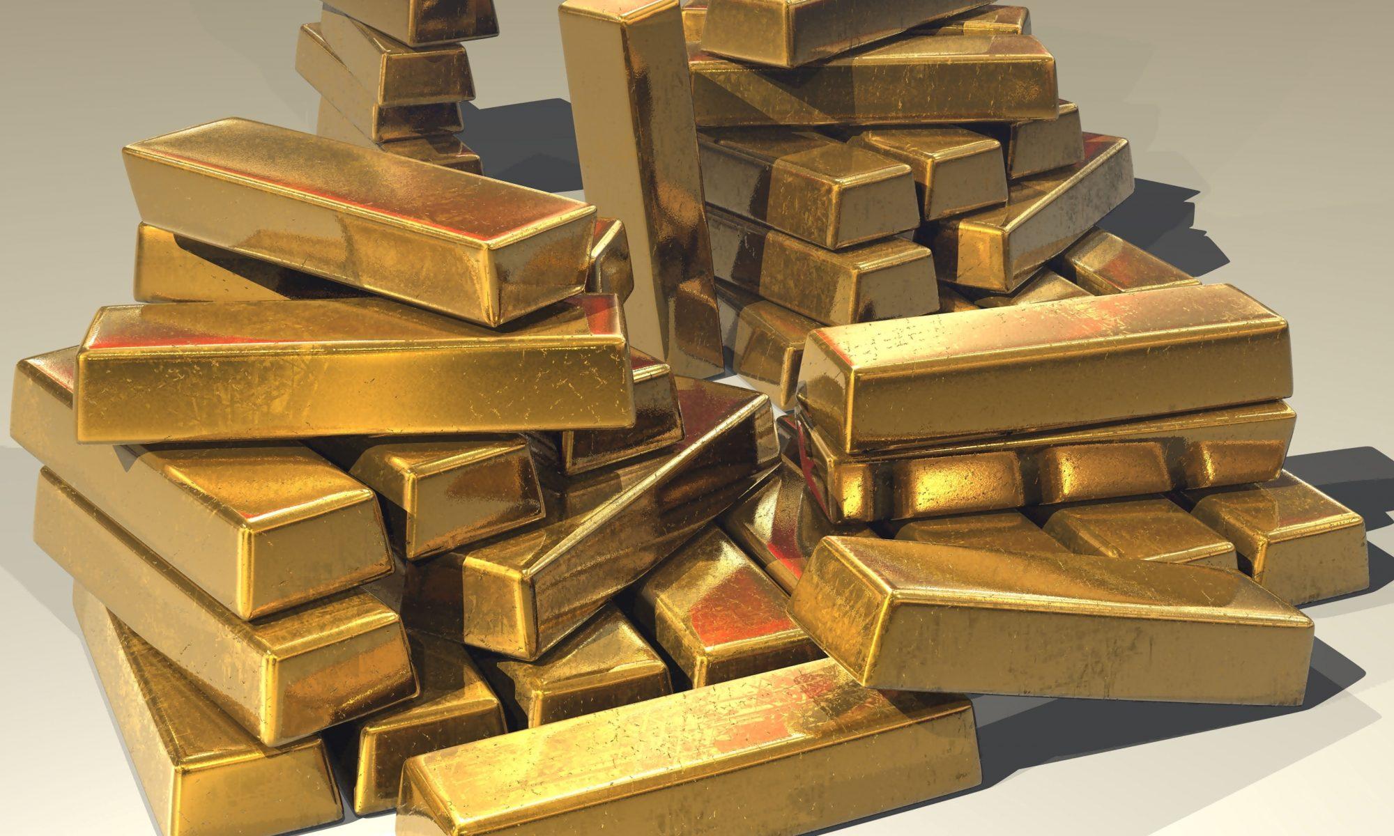 แหล่งกำเนินทองคำ